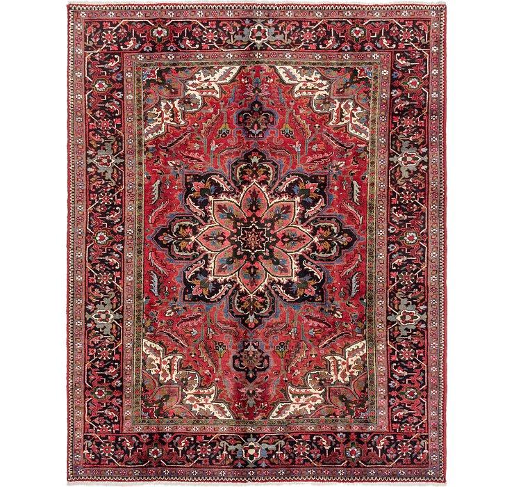 7' 10 x 10' Heriz Persian Rug