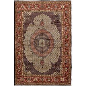 Unique Loom 12' 10 x 19' 2 Mood Persian Rug