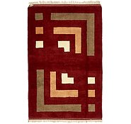 Link to 3' 4 x 5' 2 Kashkuli Gabbeh Persian Rug