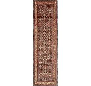 Link to 3' 8 x 14' Hossainabad Persian Runner Rug