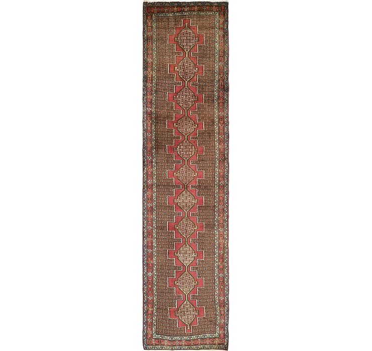 3' x 13' Sanandaj Persian Runner...