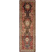 Link to HandKnotted 3' 10 x 12' 10 Zanjan Persian Runner Rug