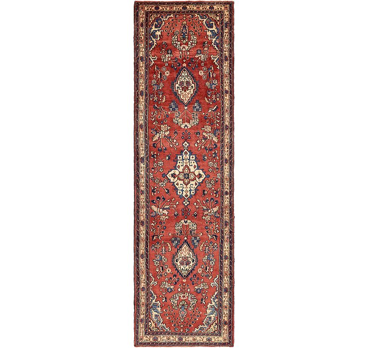 3' 9 x 13' 4 Mehraban Persian Runner...