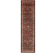 Link to 3' 8 x 14' 9 Hossainabad Persian Runner Rug
