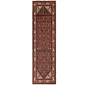 Link to 3' 7 x 13' Hossainabad Persian Runner Rug