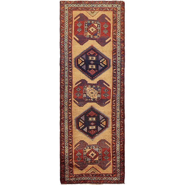 4' x 11' 10 Sarab Persian Runner Rug