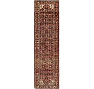 Link to 110cm x 395cm Hossainabad Persian Runner Rug