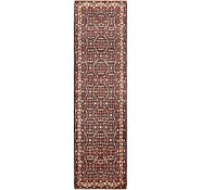 Link to 107cm x 385cm Hossainabad Persian Runner Rug