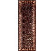 Link to 4' 1 x 12' 2 Hossainabad Persian Runner Rug