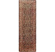 Link to 3' 7 x 12' Hossainabad Persian Runner Rug