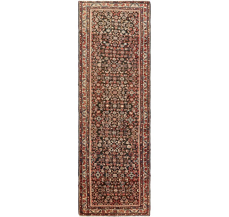 110cm x 365cm Hossainabad Persian Run...