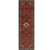 Link to 112cm x 370cm Hossainabad Persian Runner Rug