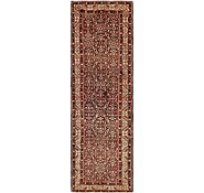 Link to 3' 8 x 11' 9 Hossainabad Persian Runner Rug