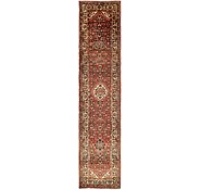 Link to 3' 8 x 16' 6 Hossainabad Persian Runner Rug