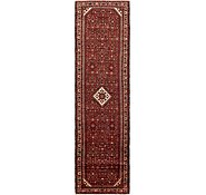 Link to 3' 9 x 14' Hossainabad Persian Runner Rug