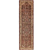 Link to 3' 7 x 13' 3 Hossainabad Persian Runner Rug