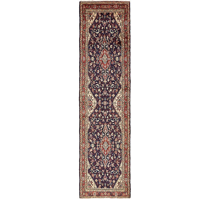 3' 5 x 13' 1 Khamseh Persian Runner ...