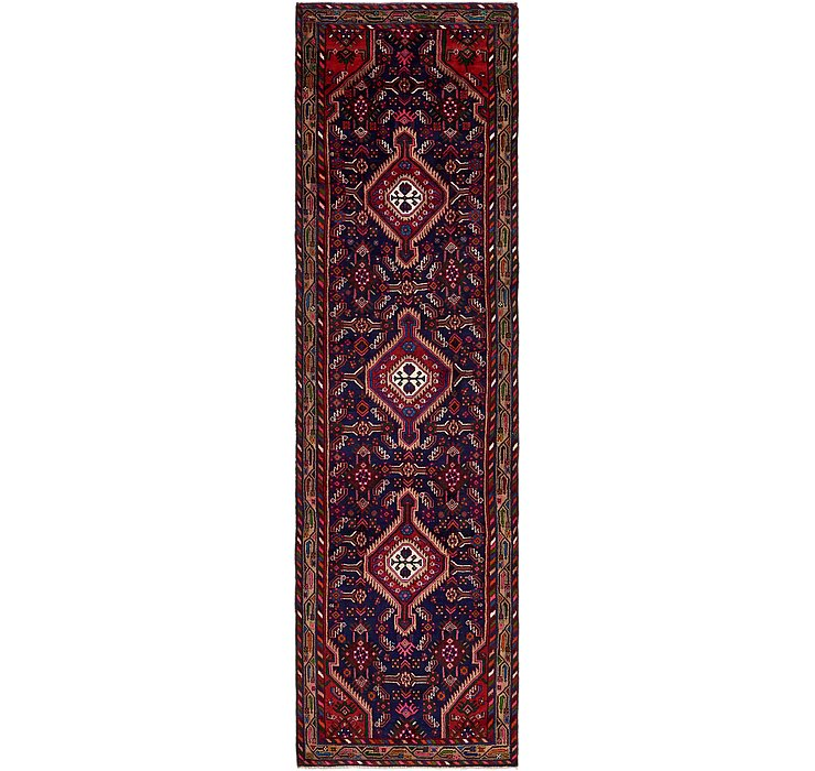 3' 9 x 13' 2 Darjazin Persian Runner...