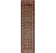 Link to 3' 8 x 14' 10 Hossainabad Persian Runner Rug