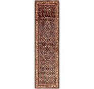 Link to 3' 7 x 14' Hossainabad Persian Runner Rug