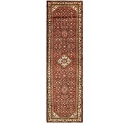 Link to 117cm x 415cm Hossainabad Persian Runner Rug