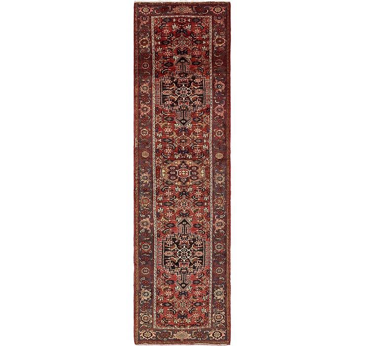 3' 7 x 13' 8 Zanjan Persian Runner Rug