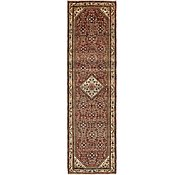 Link to 3' 6 x 12' 4 Hossainabad Persian Runner Rug