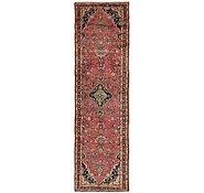 Link to 107cm x 395cm Hamedan Persian Runner Rug