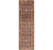 Link to 3' 5 x 11' 4 Hossainabad Persian Runner Rug