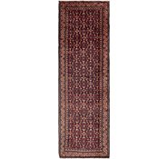 Link to 135cm x 430cm Hossainabad Persian Runner Rug