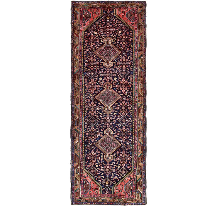 3' 9 x 10' 8 Darjazin Persian Runner...