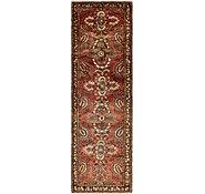 Link to 117cm x 405cm Hamedan Persian Runner Rug