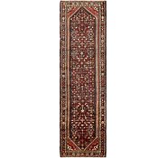 Link to 117cm x 395cm Hossainabad Persian Runner Rug