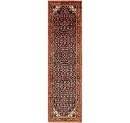 Link to 105cm x 395cm Hossainabad Persian Runner Rug