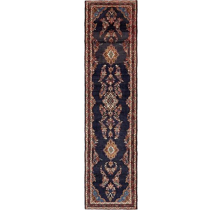 HandKnotted 3' 8 x 15' Mehraban Persian Runner...