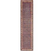 Link to 3' 1 x 13' 4 Hamedan Persian Runner Rug