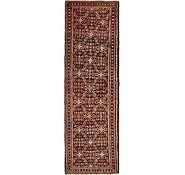 Link to 3' 9 x 11' 10 Hossainabad Persian Runner Rug