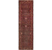 Link to 105cm x 360cm Hossainabad Persian Runner Rug