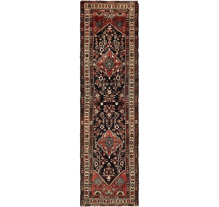 102cm x 375cm Mehraban Persian Runner...