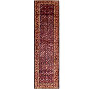Link to 3' 8 x 13' 6 Hossainabad Persian Runner Rug
