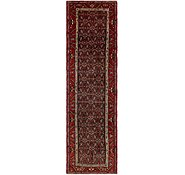 Link to 105cm x 380cm Hossainabad Persian Runner Rug