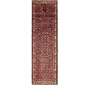 Link to 3' 10 x 13' 9 Hossainabad Persian Runner Rug