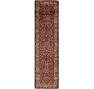 Link to 102cm x 405cm Hossainabad Persian Runner Rug