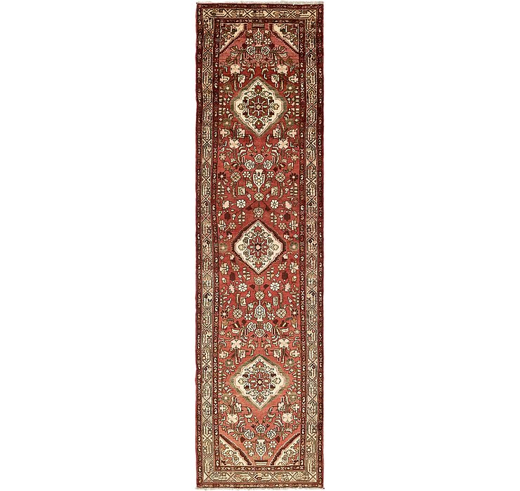 3' 6 x 13' 10 Borchelu Persian Runner...