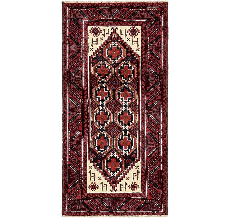 3' 3 x 6' 7 Balouch Persian Rug
