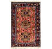Link to 4' 6 x 7' Karabakh Oriental Rug