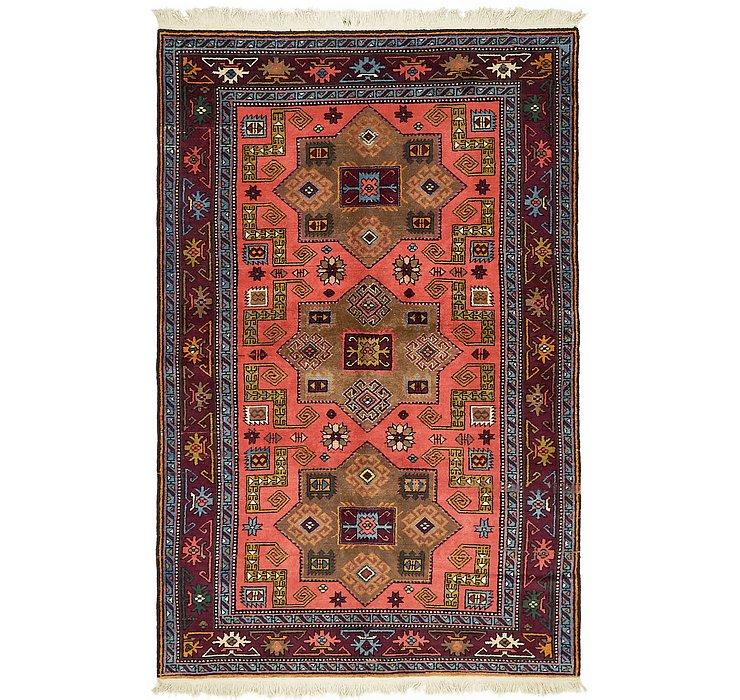 4' 6 x 7' Karabakh Oriental Rug