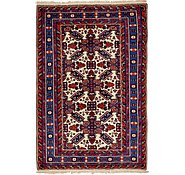 Link to 4' 7 x 7' 2 Karabakh Oriental Rug