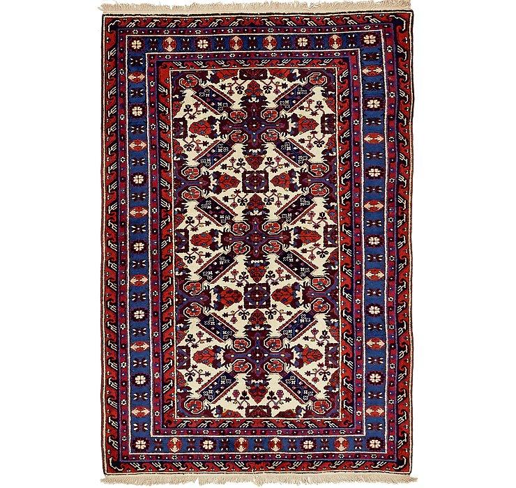 4' 7 x 7' 2 Karabakh Oriental Rug