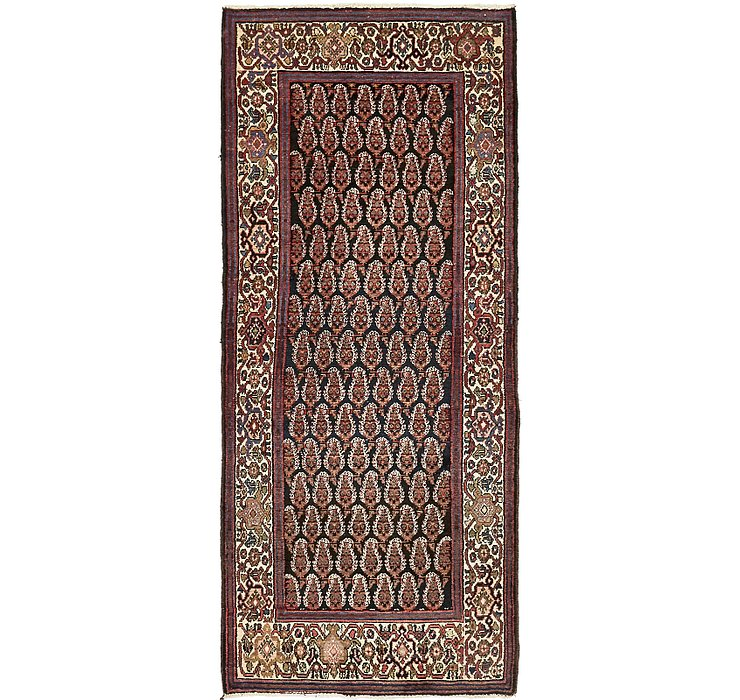 HandKnotted 3' 7 x 8' 5 Malayer Persian Runner ...